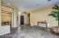 Entry and formal dining and living room areas. Split floor plan with master on north side of home with direct exit to backyard.