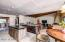 Absolutely terrific floor plan with the splendid kitchen open the expansive yet cozy family room