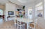 Breakfast room between kitchen and great room