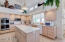 Kitchen with lots of cabinetry