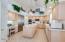 Walk in pantry in kitchen