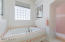 Jetted tub with walk in shower