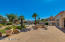 Flagstone patio with views of Camelback Mountain