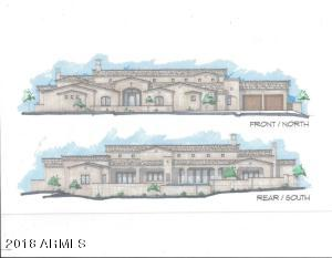 Modern Mission Architecture Design, Front and Rear View of Property