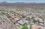 Neighborhood aerial view.