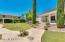 Enormous back yard is beautifully landscaped.