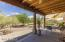 Ceiling fans in every room and the covered patio