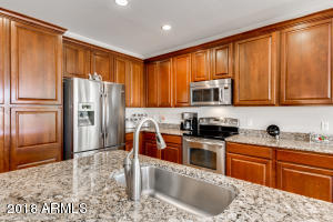Granite Counters, Stainless Steel Appliances, Custom Cabinets w/ Pull-Outs