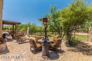 Backyard With View of Beautiful Green Belt