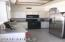 Kitchen stove and refrigerator