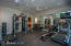 HOME GYM WITH RUBBERIZED FLOORING