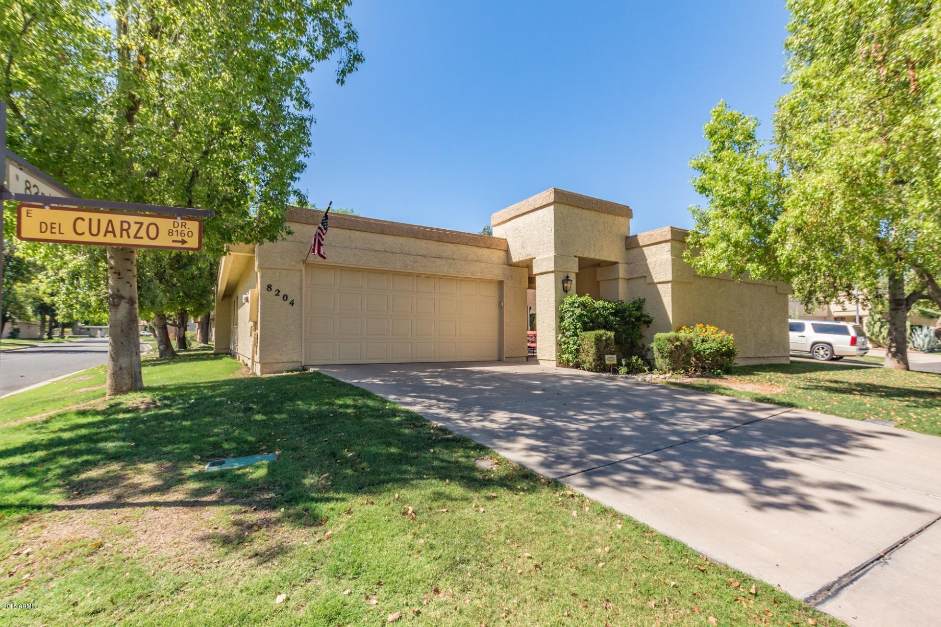 8204 E DEL CUARZO Drive, McCormick Ranch, Arizona