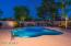 Large pool with awesome water feature. Room to play volleyball in the pool. Massive grassy area that can be used for bocce ball or whatever you desire.