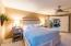 Spacious , private master area that is split from the other bedrooms. Fabulous decorator paint colors