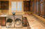 LARGE LAUNDRY ROOM WITH GRANIT COUNTERTOPS & STORAGE