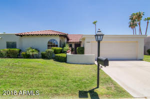 Your new home is situated near the bottom of a private and quiet cul-de-sac. Your new address is one of Scottsdale's best near Lincoln and Scottsdale Road.