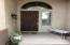 Recently refinished front door