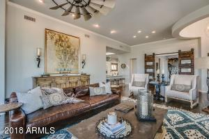 View from the expansive family room - plenty of room for entertaining.