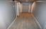 Wood plank ceramic tile through