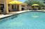 """LARGE """"PEBBLE TECH STYLE"""" POOL WITH """"POP UP JETS"""" CLEANING SYSTEM"""