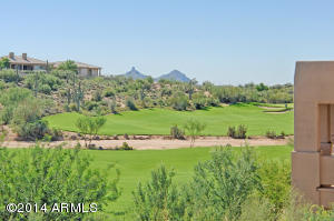 Fantastic views of the 17th Fairway & Pinnacle Peak