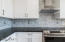 Marble tile Backsplash, Black Mist Honed Granite