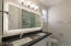 Double Vanity and lighted mirror