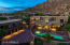 This European Villa has magnificent views of city lights, Troon Mountain, Pinnacle Peak & the McDowell Mountains.