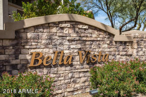 The entrance to Bella Vista