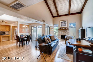 Large open space with great beams with character