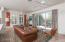 Spacious Greatroom with expansive 12' Multi-slide Door.