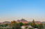 View of Piestewa Peak from rooftop deck.