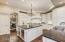 New custom kitchen cabinetry, Pro grade appliances, oMarron Cohiba honed granite countertops