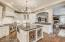 Sub Zero wine and beverage center, 48 in Wolf Range, Custom pull out pantry