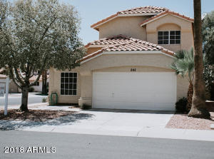 842 S PRESIDIO Drive, Gilbert, AZ 85233