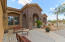 Front courtyard area, to relax and watch those Beautiful Arizona Sunsets!