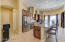 Gourmet Kitchen, Propane gas cooktop, Huge Island, 42 inch custom cabinets.