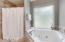 Master Bathroom with jacuzzi soaking tub