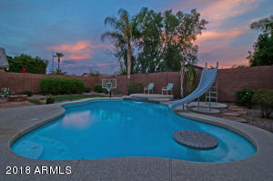 Enjoy swimming and Arizona sunsets!