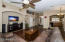 Open floor plan with great room/dining and kitchen