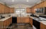 """Perfect """"U"""" shaped kitchen...makes preparing your favorite meals easy!"""