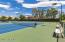 There are 7 private tennis courts with plexicushion surfaces!