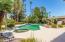 pool and spa and a huge backyard