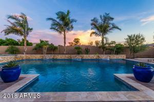 Enjoy stunning sunsets from the south facing backyard.