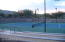 Multiple tennis courts and pickleball courts.