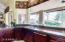 Kitchen - Overlooks Rear Patio, Pool and Golf Course