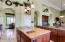 Kitchen - Easy entree to Dining Room and Family Room