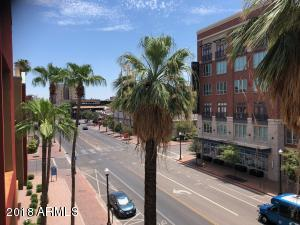 Great View of 5th St and Mill Ave from BOTH Balconies!