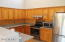 Lots of couter space for prepping, baking, etc.