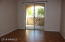 Master bedroom entry/exit to patio